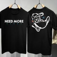 T-shirt Duck Space / Baju Kaos Distro Pria Wanita Cotton 30s