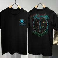 T-shirt Alien Inspired / Baju Kaos Distro Pria Wanita Cotton 30s