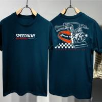 T-shirt Speedway Supply / Baju Kaos Distro Pria Wanita Cotton 30s
