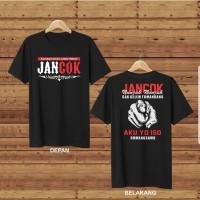 T-shirt Jancok / Baju Kaos Distro Pria Wanita Cotton 30s
