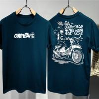 T-shirt Complotan / Baju Kaos Distro Pria Wanita Cotton 30s