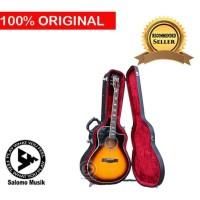 Gitar Akustik Elektrik Cetta LV33SCE-TVS (G) + Hardcase