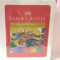 Krayon Hexagonal Oil Pastels Faber Castell 72