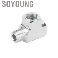 Soyoung Akozon Fitting for T-tube type T and adapter 1/8 3-way