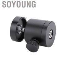 Soyoung Mount Bracket Holder Mini Ball Head 360 ° Swivel 1 / 4