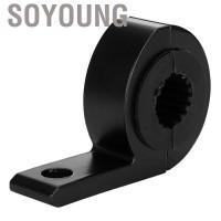 Soyoung Black Aluminum Alloy Motorcycle Light Bar Mounting Bracket