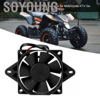Soyoung Electric Engine Cooling Fan Radiator for Motorcycle ATV Go