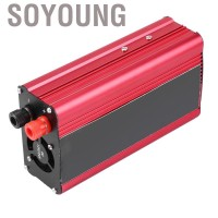 Soyoung 1500W Car Power Inverter USB Charger Converter Adapter