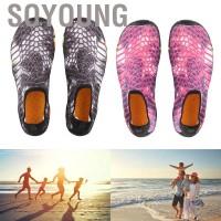 Soyoung Sepatu Renang Unisex Anti Slip untuk Outdoor / Trekking /