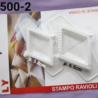 LY-1500-2 Lain-lain cetakan ravioli cetakan pangsit pastel