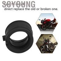 Soyoung 2Pcs Motorcycle Carb Carburetor Intake Manifold Boot Joint