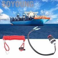 Kabel Tether Switch Pengaman Mesin untuk Mobil Marine / Mercury /