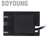 Soyoung Portable DR-E6 Baterai Dummy DC Coupler External Power
