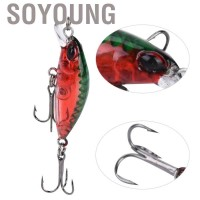 Soyoung 5PCS ABS Mini Minnow Lifelike Artificial Hard Bait Fishing