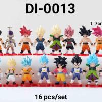 DI-0013 Mainan figurin figurine cake topper Dragon Ball