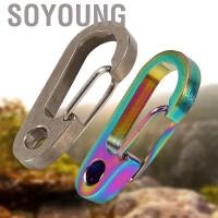 Gantungan Kunci Carabiner Bahan Alloy untuk Hiking - Intl