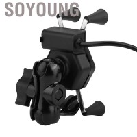 Soyoung Universal Motorcycle Phone Holder Mobile Stand Bracket