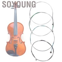 Soyoung Violin String Silver Coated Carbon Steel Wire Instrument