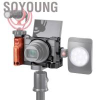 Cage Bahan Aluminium Alloy dengan Handle Kayu Untuk Sony RX100 VII