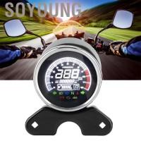 Soyoung Tachometer Speedometer Digital dengan Layar LCD untuk Motor