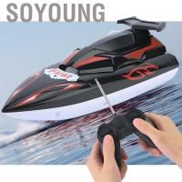 Mainan RC Kapal Speedboat Elektrik untuk Anak / Dewasa