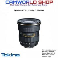 LENSA TOKINA AT-X 12-28F4.0 PRO DX - FOR CANON & NIKON