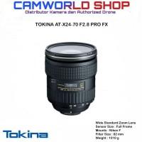 LENSA TOKINA AT-X 24-70 F2.8 PRO FX - FOR CANON & NIKON