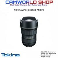 LENSA TOKINA AT-X 16-28 F2.8 PRO FX - FOR CANON & NIKON