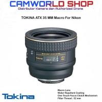 LENSA TOKINA AT-X 35MM MACRO FOR NIKON