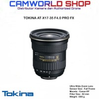 LENSA TOKINA AT-X 17-35 F4.0 PRO FX - FOR CANON & NIKON
