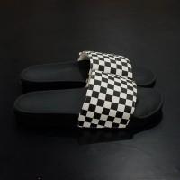 Vans Slide On Checkerboard Black
