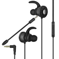 Earphone Gaming + Microphone / Headset / Mic / PUBG / FF