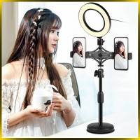 Go Holder Dual Phone Bracket / HP / Tripod / Ringlight / Mic