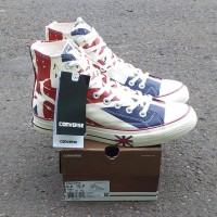 Sepatu sneakers Converse 70's hi UNIONJACK