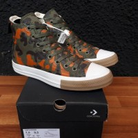 Sepatu sneakers Converse 70's hi FIELD SURPLUS EGRET BROWN
