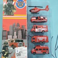 mainan truk pemadam kebakaran fire truck fire car mobil pemadam