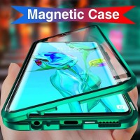 CASE MAGNETIC SAMSUNG S9+ DOUBEL GLASS