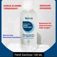 Hand Sanitizer 100 ml Antiseptic Antis Aseptic Gel Pembersih Tangan