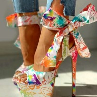 Shoes Print Heels