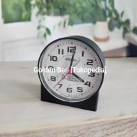Jam Meja/ Weker Seiko QHE907K - Quiet Sweep & LumiBrite