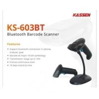 Scanner Barcode Bluetooth 2 Dimensi Kassen KS-603BT