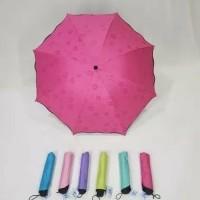 AY Payung Lipat 3D Magic Umbrella Muncul Motif Jika Basah