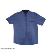 677.Kemeja Pria/Atasan Pria TOP-TEN(M-XL)