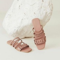 Rye Sandals in Pink size 39 - Protea