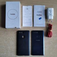 ZTE Nubia Z17S 8/128gb Blue Snapdragon 835 Mulus Fullset Resmi Indo