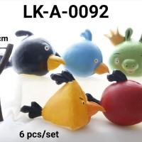 LK-A-0092 Topper mainan KARAKTER lokal Angry burung Bird
