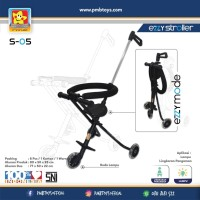Magic Stroller PMB Roda 3 / Stroller Balita / Kereta Dorong Bayi
