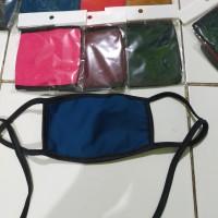 Masker kain bahan halus masker anti debu anti kuman