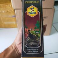 madu hitam pahit plus propolis 500gr SAR madu hitam propolis