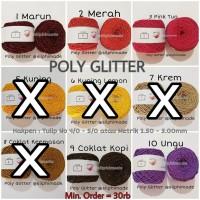[BN21] Poly Glitter / Blink - Blink (Benang Rajut Polyester)